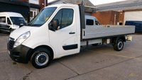 USED 2013 63 VAUXHALL MOVANO 2.3 F3500 L3H1 C/C CDTI 1d 123 BHP DROP SIDE 1 OWNER F/S/H 2 KEYS \ FREE 12 MONTHS WARRANTY COVER //