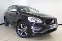 USED 2014 64 VOLVO XC60 2.0 D4 R-DESIGN 5DR AUTOMATIC 178 BHP SERVICE HISTORY + HALF LEATHER SEATS + BLUETOOTH + CRUISE CONTROL + CLIMATE CONTROL + RADIO/CD + 18 INCH ALLOY WHEELS