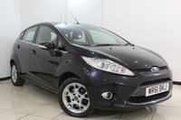 USED 2011 61 FORD FIESTA 1.2 ZETEC 5DR 81 BHP FORD SERVICE HISTORY + BLUETOOTH + MULTI FUNCTION WHEEL + AUXILIARY PORT + RADIO/CD + 15 INCH ALLOY WHEELS