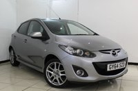 USED 2015 64 MAZDA 2 1.3 SPORT VENTURE EDITION 5DR 83 BHP SAT NAVIGATION + BLUETOOTH + MULTI FUNCTION WHEEL + AUXILAIRY PORT + RADIO/CD + AIR CONDITIONING + 16 INCH ALLOY WHEELS