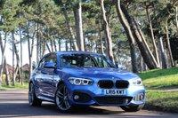 2015 BMW 1 SERIES 1.6 118I M SPORT 3d 134 BHP £SOLD