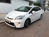 2013 TOYOTA PRIUS 1.8 T SPIRIT VVT-I 5d AUTO 99 BHP £14490.00