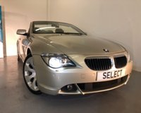 2005 BMW 6 SERIES 3.0 630I 2d AUTO 255 BHP Convertible £6973.00