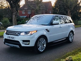 2015 LAND ROVER RANGE ROVER SPORT 3.0 SDV6 HSE AUTO. 21'' ALLOYS. HEAD UP DISPLAY. BIG SPEC. £44995.00