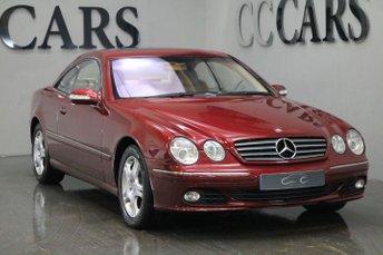 2003 MERCEDES-BENZ CL 5.0 CL 500 2d AUTO 302 BHP £3495.00