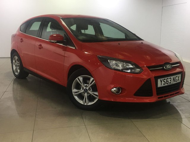View our 2014 63 FORD FOCUS 1.6 ZETEC TDCI 5d 113 BHP