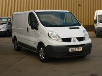 USED 2012 12 RENAULT TRAFIC 2.0DCi SWB  SL29  115 BHP **NAVIGATION** FINANCE AVAILABLE