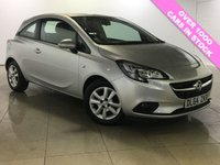 USED 2015 64 VAUXHALL CORSA 1.2 DESIGN 3d 69 BHP 1 Owner/Ideal First Car/A/C