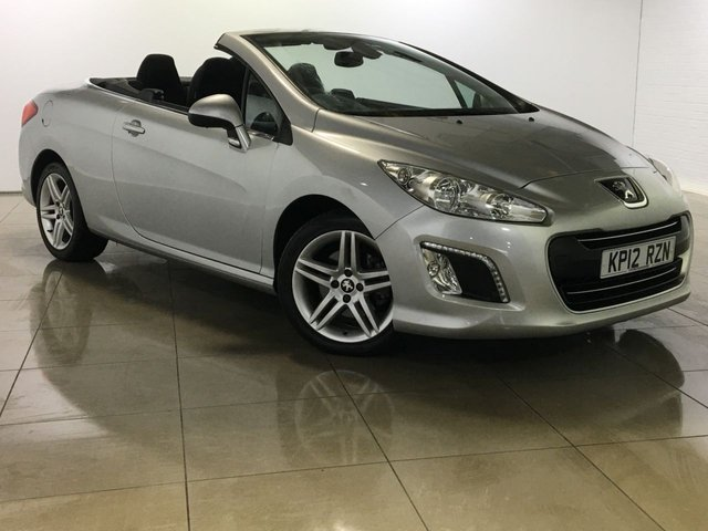 View our 2012 12 PEUGEOT 308 2.0 HDI CC ACTIVE 2d AUTO 163 BHP