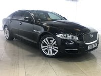 USED 2013 13 JAGUAR XJ 3.0 D V6 PREMIUM LUXURY 4d AUTO 275 BHP Panoramic Roof/Sat Nav/Leather