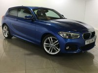 USED 2015 65 BMW 1 SERIES 1.5 116D M SPORT 3d 114 BHP 1 Owner/Glass Sunroof/Nav