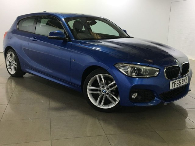 View our 2015 65 BMW 1 SERIES 1.5 116D M SPORT 3d 114 BHP