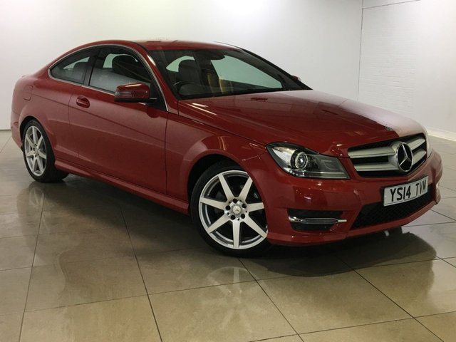 View our 2014 14 MERCEDES-BENZ C CLASS 1.6 C180 AMG SPORT EDITION PREMIUM 2d AUTO 154 BHP