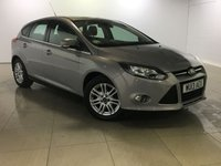 USED 2013 13 FORD FOCUS 1.0 TITANIUM 5d 99 BHP Great Car/Bluetooth/DAB Radio