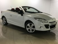 USED 2012 62 RENAULT MEGANE 1.5 DYNAMIQUE TOMTOM DCI EDC 2d AUTO 110 BHP Sat Nav/Two Tone Leather
