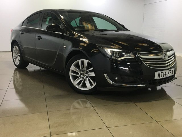 View our 2014 14 VAUXHALL INSIGNIA 2.0 SRI NAV CDTI 5d 128 BHP