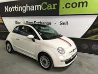 USED 2008 58 FIAT 500 1.2 LOUNGE 3d 69 BHP
