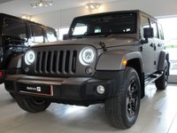 2015 JEEP WRANGLER 2.8 CRD OVERLAND UNLIMITED 4d AUTO 197 BHP RESERVED FOR ALASTAIR £29994.00