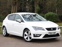 USED 2013 63 SEAT LEON 1.4 TSI FR 5d 140 BHP £182 PCM With £1039 Deposit