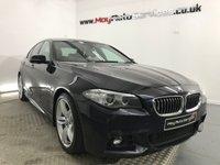 2014 BMW 5 SERIES 3.0 530D M SPORT 4d 255 BHP £16995.00