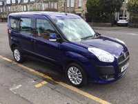 USED 2011 11 FIAT DOBLO 1.6 MULTIJET ELEGANZA 5d 105 BHP PRICE INCLUDES A 6 MONTH AA WARRANTY DEALER CARE EXTENDED GUARANTEE, 1 YEARS MOT AND A OIL & FILTERS SERVICE. 6 MONTHS FREE BREAKDOWN COVER.