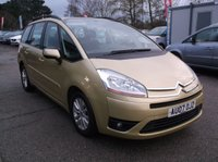 2007 CITROEN C4 GRAND PICASSO 1.6 VTR PLUS HDI 5d 110 BHP £3350.00