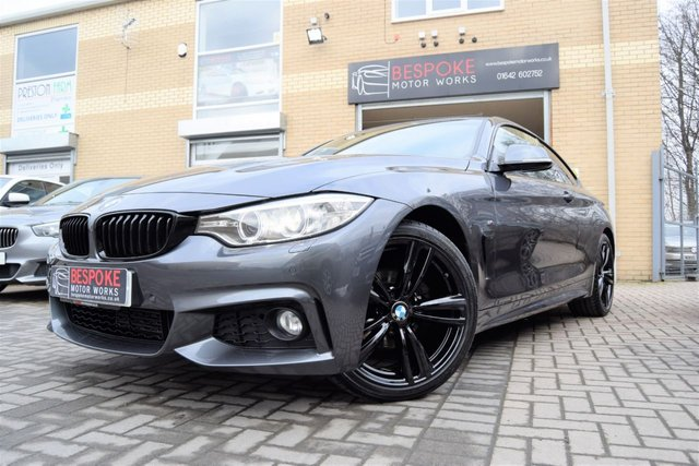 2014 64 BMW 4 SERIES 420I M SPORT 184 BHP COUPE