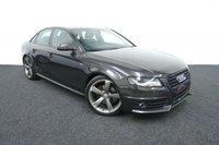 2011 AUDI A4 2.0 TDI S LINE BLACK EDITION 4d 134 BHP £10650.00