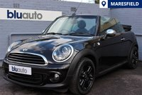 2013 MINI CONVERTIBLE 1.6 ONE 2d 98 BHP £8430.00