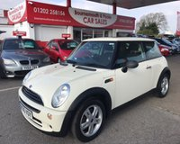 2005 MINI HATCH ONE 1.6 ONE 3d 89 BHP £2195.00