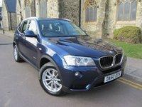 2010 BMW X3 2.0 XDRIVE20D SE 5d AUTO 181 BHP £12695.00