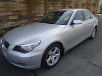 USED 2008 58 BMW 5 SERIES 3.0 525D SE 4d AUTO 195 BHP