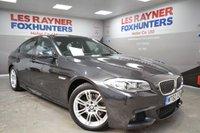 USED 2011 60 BMW 5 SERIES 2.0 520D M SPORT 4d 181 BHP Full Leather, Bluetooth, Climate control, Autolights, Msport