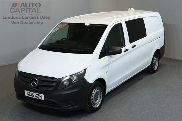 2016 16 MERCEDES-BENZ VITO 1.6 111 CDI 6d 114 BHP LWB AIR CONDITION 5 SEAT COMBI VAN ONE OWNER FROM NEW