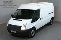 USED 2013 13 FORD TRANSIT 2.2 350 5d 138 BHP LWB AIR CONDITION  2 OWNER FROM NEW