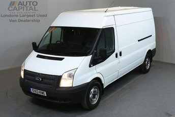 2013 FORD TRANSIT 2.2 350 5d 138 BHP LWB AIR CONDITION  £6990.00