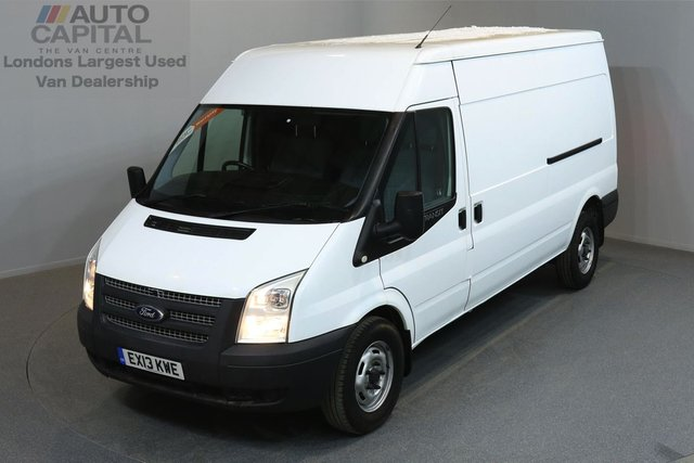 2013 13 FORD TRANSIT 2.2 350 5d 138 BHP LWB AIR CONDITION  2 OWNER FROM NEW