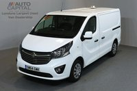 USED 2015 64 VAUXHALL VIVARO 1.6 2900 CDTI P/V SPORTIVE 5d 118 BHP SWB A/C ECO DRIVE ONE OWNER FROM NEW