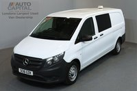 USED 2016 16 MERCEDES-BENZ VITO 1.6 111 CDI 114 BHP LWB A/C 5 SEATER COMBI VAN ONE OWNER FROM NEW, FULL SERVICE HISTORY