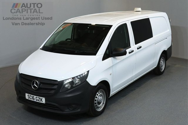 2016 16 MERCEDES-BENZ VITO 1.6 111 CDI 114 BHP LWB A/C 5 SEATER COMBI VAN ONE OWNER FROM NEW, FULL SERVICE HISTORY