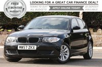 USED 2008 57 BMW 1 SERIES 1.6 116I ES 5d 121 BHP +++ FREE 6 months Autoguard Warranty included in screen price +++