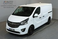 USED 2015 64 VAUXHALL VIVARO 1.6 2900 L1H1 CDTI P/V SPORTIVE 5d 118 BHP A/C ECO DRIVE ONE OWNER FROM NEW