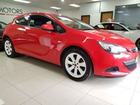 2011 VAUXHALL ASTRA 1.4 GTC SPORT S/S 3d SERVICE HISTORY £4850.00