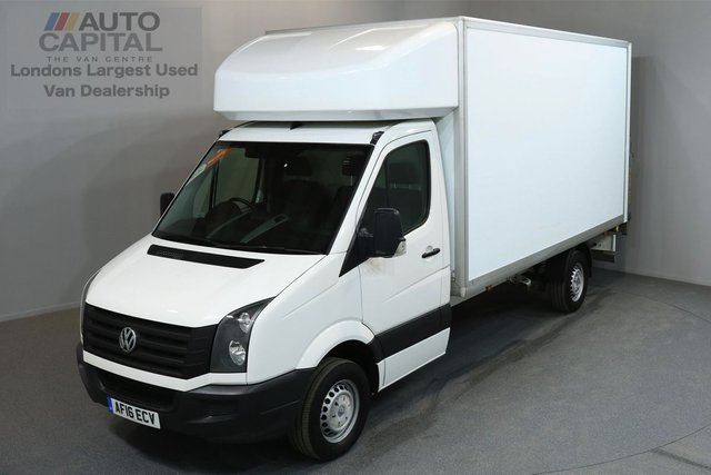 2016 16 VOLKSWAGEN CRAFTER 2.0 CR35 TDI C/C LUTON 3d 136 BHP LWB RWD REAR TAIL LIFT FITTED CRUISE CONTROL LUTON VAN ONE OWNER FROM NEW