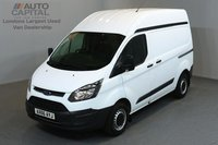 USED 2016 66 FORD TRANSIT CUSTOM 2.0 290 HR P/V 5d 104 BHP SWB POWER WINDOWS BLUETOOTH AUX USB ONE OWNER FROM NEW