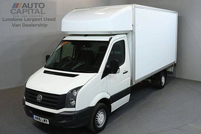 2016 16 VOLKSWAGEN CRAFTER 2.0 CR35 TDI 136 BHP LWB TAIL LIFT FITTED LUTON VAN
