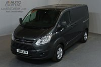 USED 2016 66 FORD TRANSIT CUSTOM 2.0 270 LIMITED LR P/V 5d 129 BHP SWB AIR CONDITION ALLOY WHEEL EURO 6 ENGINE ONE OWNER FROM NEW