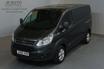 2016 FORD TRANSIT CUSTOM 2.0 270 LIMITED LR P/V 5d 129 BHP SWB AIR CONDITION ALLOY WHEEL EURO 6 ENGINE £14450.00