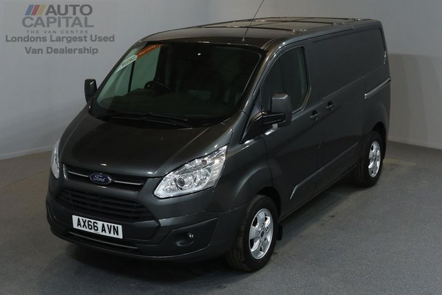 2016 66 FORD TRANSIT CUSTOM 2.0 270 LIMITED LR P/V 5d 129 BHP SWB AIR CONDITION ALLOY WHEEL EURO 6 ENGINE ONE OWNER FROM NEW