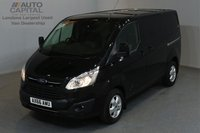 USED 2016 66 FORD TRANSIT CUSTOM 2.0 270 LIMITED LR P/V 5d 129 BHP SWB AIR CONDITION ALLOY WHEEL EURO 6 ONE OWNER FROM NEW